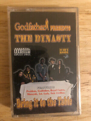 Godfather Vintage Texas Hip Hop Cassette Tape - The Dynasty - Mckeesport, PA Rap