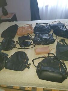 Handbags and backpacks selling separate must go