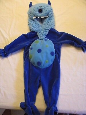 MONSTERS Inc Mike baby boy costume sleeper romper hood Koala Kids 9 Months - Kids Monsters Inc Costume