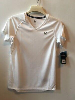 Alpha V-neck T-shirt (Mission Womens VaporActive Alpha Short Sleeve V-Neck T-Shirt Medium)
