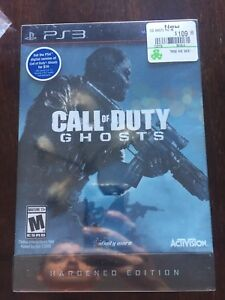 Sealed ps3 COD ghosts hardened edition