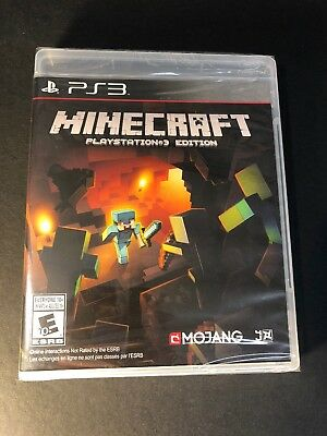Minecraft [ PlayStation 3 Edition ] (PS3) NEW