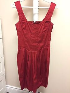 Red Marciano Dress XS