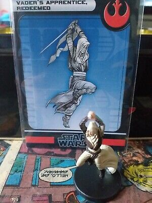 Star Wars Miniatures - Vader's Apprentice,  Redeemed 25/60 + Card Free P&P