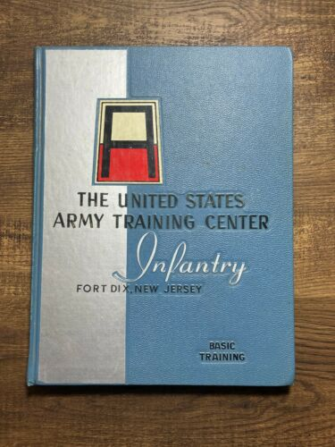1959 UNITED STATES ARMY TRAINING CENTER YEARBOOK, INFANTRY, FORT DIX, NJ