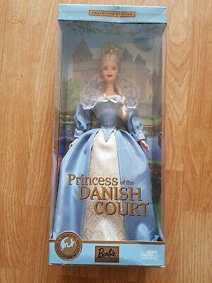 Princess Of The Danish Court Barbie 2002 Rare Special Edition  NIB Slightly...