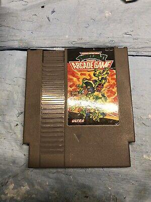 NES TMNT Teenage Mutant Ninja Turtles II 2: The Arcade Game *Authentic