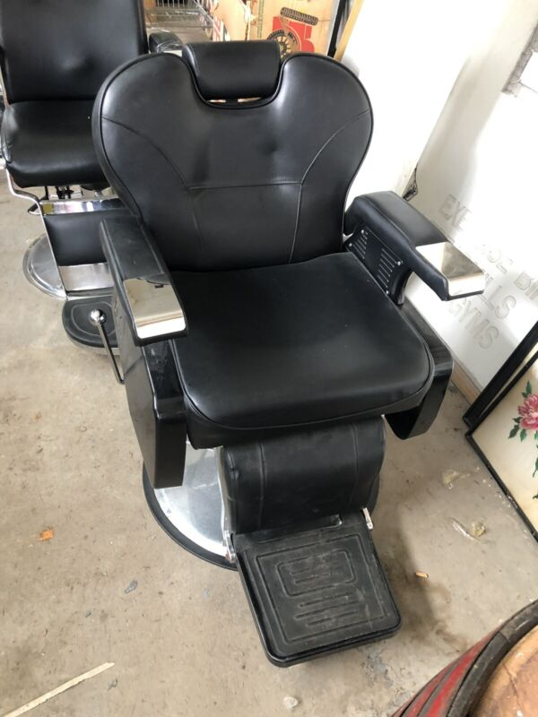 barber 2 chairs vintage Pair Staten Island Pick Up Bargain