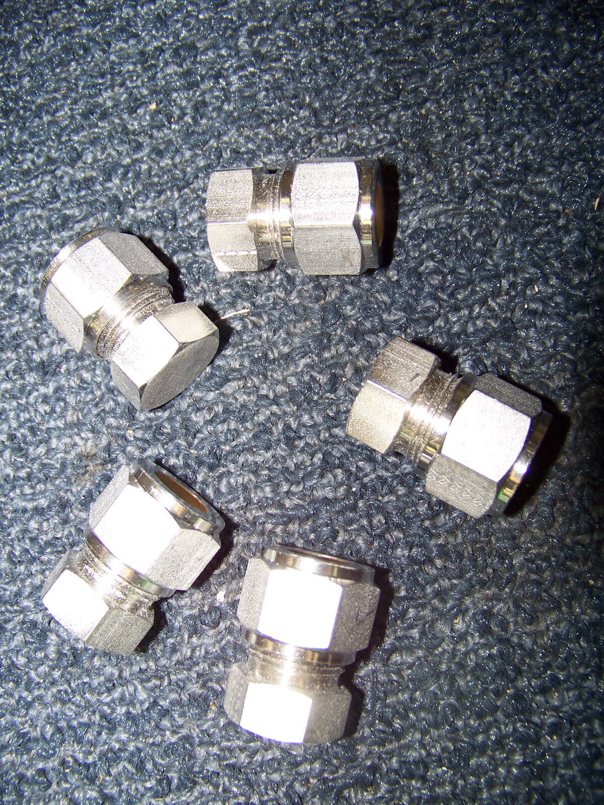 Hoke gyrolok flareless tube fittings stainless steel ea