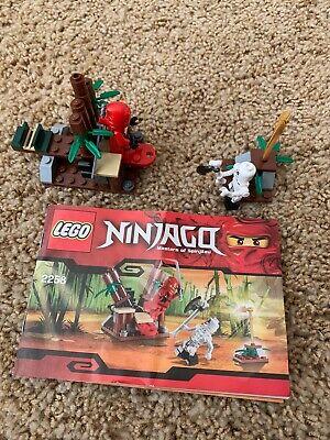LEGO 2258 NINJAGO Ninja Ambush Complete with Minifigures and Instructions