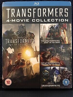 Transformers Blu ray 4 movie collection