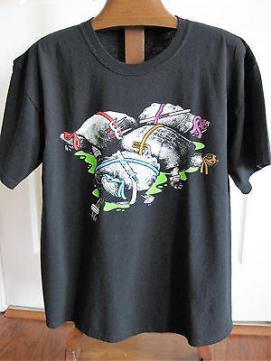 TeeFury Adult T-Shirt Real B&W Turtles with Teenage Mutant Ninja Weapons Size L](Real Ninja Weapons)