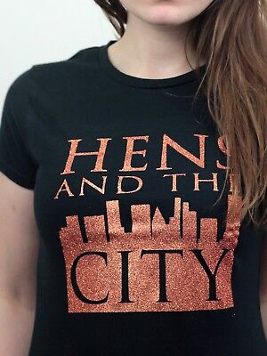 Hens & The City T-shirt Bride To Be Hen Party Custom Personalised Ladies Tribe - Party City Customes