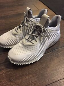 Men's adidas alpha bounce 3 reigning champ sneakers 10 cream