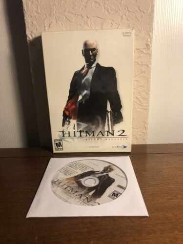 Computer Games - Hitman 2: Silent Assassin - PC CD Computer game Complete