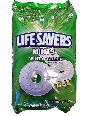 Life Savers Mints Wint O Green Party Bag Wintergreen Candy 3LB 2OZ](Lifesavers Mints)