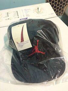 Very-Rare-Vintage-Cap-Hat-Nike-Air-Jordan-Michael-Leather-90s-Neuf-New-HTF