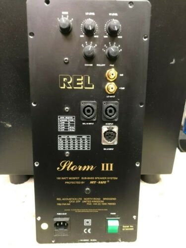 REL STORM III repair service please read