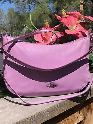Coach Chelsea Crossbody/Shoulder Purple leather  bag