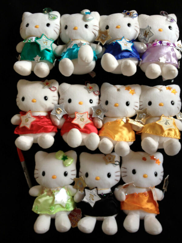 CHOOSE ONE~ASTROLOGY ZODIAC SANRIO HELLO KITTY PLUSH from Japan-ship free