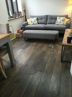 ENGINEERED WOOD FLOORING 189/18mm 5mm Top. DISTRESSED GREY FINISH