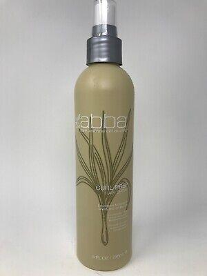 Abba Pure Performance Curl Prep Hair Spray 8 oz Amplify & Hydrate Curls
