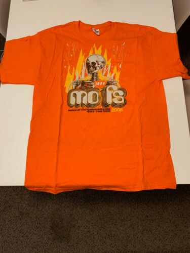 FLAMING LIPS - March of 1000 Skeletons 2008 t-shirt - official merch OOP