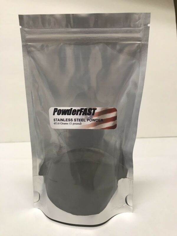 303 Grade Stainless Steel Powder, 1 Pound (453.6 Grams) Free Shipping