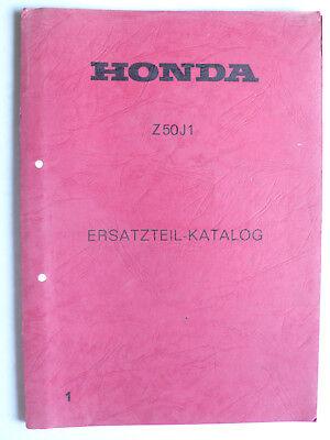Ersatzteil-Katalog 1 - Honda Z 50 J1, 30 Seiten d'occasion  Expédié en Belgium