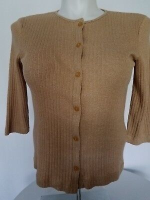 DOCKERS cardigan  sweater for women size M  brown