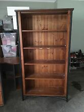 Solid Timber Bookshelf with wrought iron Pitt Town Hawkesbury Area Preview
