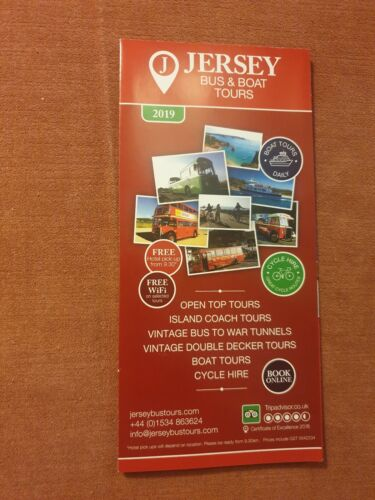 Jersey Bus and Boat Tours Brochure 2019