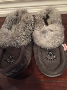 Moccasin flats and boots