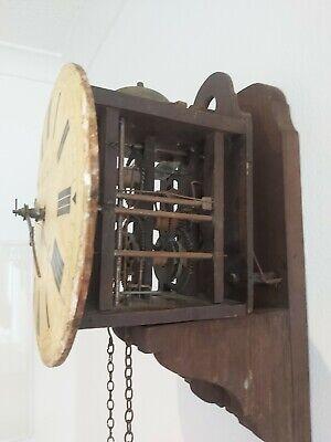 A J BIRNHARD OF HASTINGS WALL CLOCK