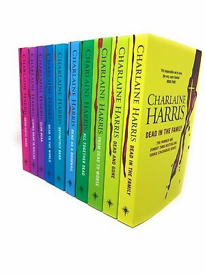 Sookie Stackhouse Series Collection 10 Books Set Charlaine Harris, Club Dead ...