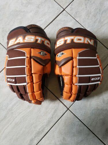 Easton EQ Compuware pro stock hockey gloves, size 13