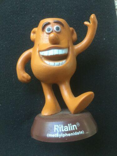 RARE Vintage Ritalin Man Advertising Figure