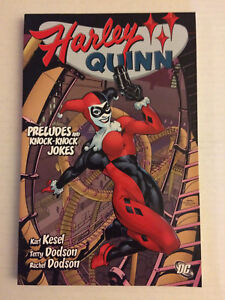 Harley Quinn graphic novel comic