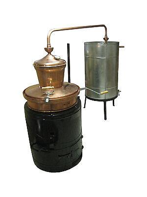 """Destille, 80 Liter, Modell """"Professional 80"""" mit Rührwerk und Thermometer"""