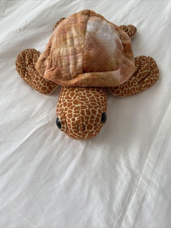 SEA World plush Turtle 2012 fiber fill poly 16 inches age 3+