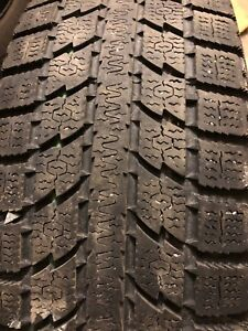 2 15 inch winter tire - excellent
