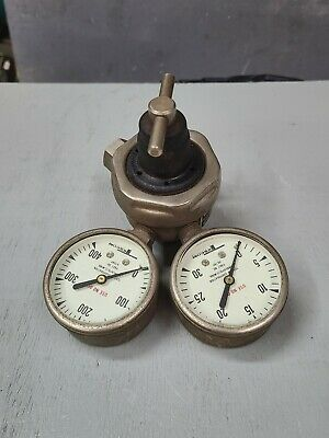Smith Tescom Acetylene Torch Regulator H745-mc Jewelry Welding