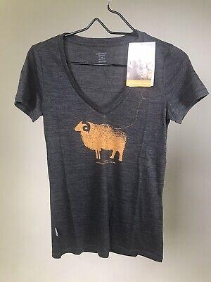 ICEBREAKER Women's Merino Wool Sheep Graphic XS/Small/Medium/Large/XL- NWT!