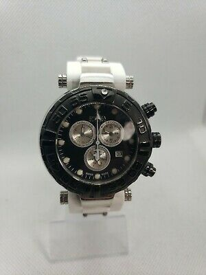 Invicta Subaqua Noma 20468 Limited Edition Swiss Chronograph Silver Black Watch