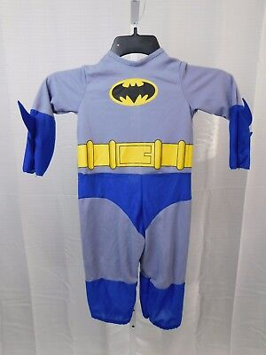 Rubies Batman Brave & Bold Toddler Halloween Costume Jumpsuit Only #5297 - Toddler Batman Halloween Costumes