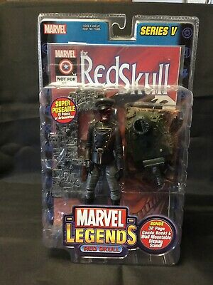 2003 ToyBiz Marvel Legends Series V 5 RED SKULL Figure NIB.