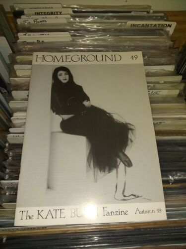 KATE BUSH - HOMEGROUND ISSUE # 49 AUTUMN 1993  - RARE/OUT OF PRINT