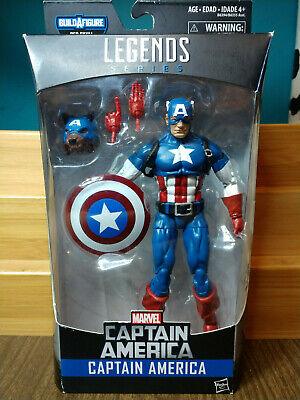 "Marvel Legends 6"" Captain America - Captain America Comic Version - No BAF"
