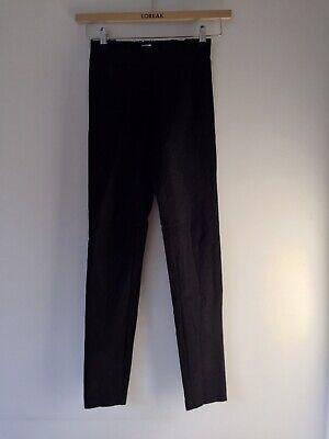 JOSEPH Pull On Stretch Leggings/Trousers Black Size UK 6/EU 34