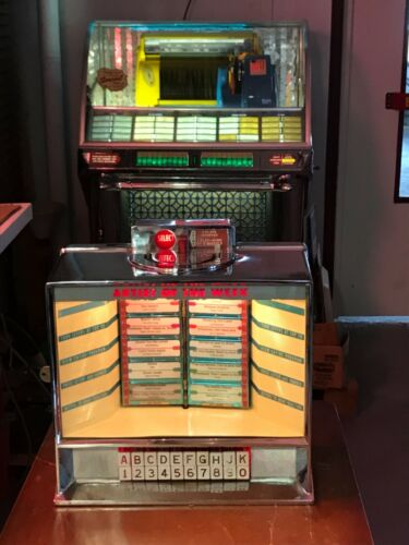 seeburg jukebox Wallbox 3w100 tested working select o matic 1957 vintage